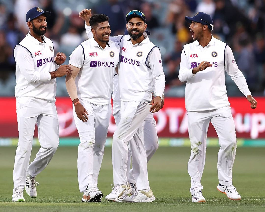 India Australia 1st Test Match