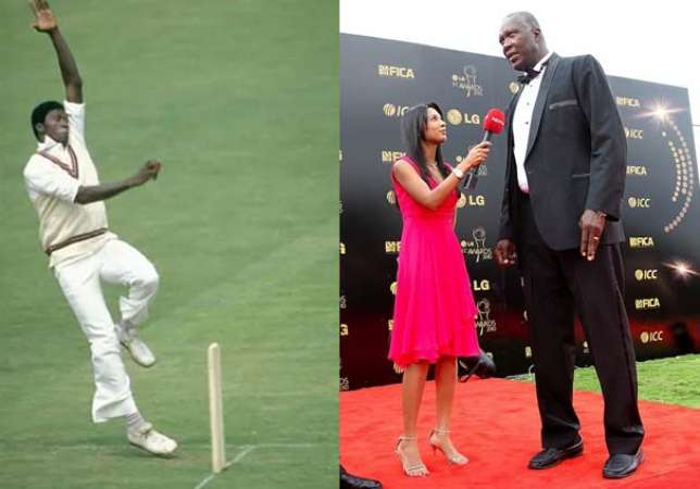 Tallest Cricketer in the World